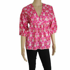 Women's Regular Floral 100% Cotton Tops & Blouses