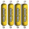 YELLOW Shock Covers POLARIS Sportsman 400 500 600 700 800 EFI HO (Set of 4) NEW