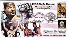Riddick Bowe 2015 Boxing HOF Induction Cover Pictorial Cancel DJSPhotoCollrges