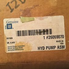 OEM GM Power Steering Pump 26069070