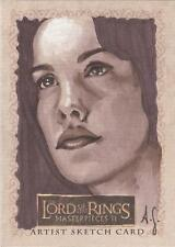 "Lord of the Rings Masterpieces II - Allison Sohn ""Arwen"" Sketch Card"