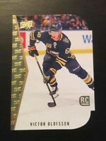 1x - Victor Olofsson 2019-20 Upper Deck Hockey 1994-95 Rookie Die Cut #13 Sabres