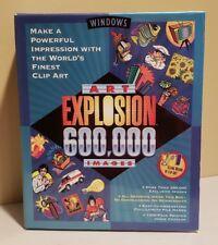 Windows ART EXPLOSION 600,000 Images Clip art by Nova 29 Discs BRAND NEW SEALED