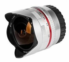 T988272 Samyang f2.8 - objetivo ojo de pez para Cámaras Fuji X (enfoque manual