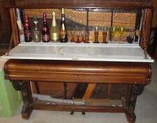 Antik 1850 STEINGRAEBER BAYREUTH Piano Klavier Bar Klavierbar Barschrank Medaill