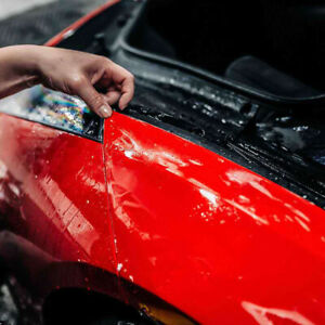 PPF TPU Paint Protection Film Car Skin Cover Scratch Resistant Dirty 76cmX2m