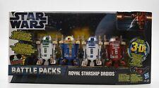 Star Wars Battle Packs - Royal Starship Droids Action Figure Set