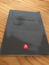 "Citroën Saxo "" Audio 2104 RDS "" autoradio notice utilisation mode d' emploi"