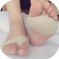Women Footful Ball Of Foot Gel Pads Cushion Forefoot Metatarsal Morton's Neuroma
