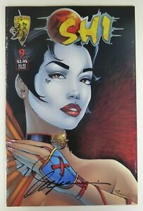 Crusade SHI: WAY OF THE WARRIOR (1996) #9 SIGNED by Bill TUCCI w/COA VF