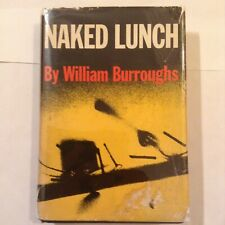 NAKED LUNCH -- WILLIAM BURROUGHS -- GROVE PRESS 1959 12TH PRINTING -- VG / VG-