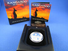 2010 RAM - $1 KANGAROO AT SUNSET SILVER PROOF COIN - COMPLETE!!!
