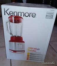 Kenmore 500 Watt Blender Red Heavy Duty 08-40710  Brand New In Box