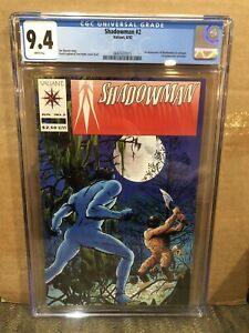 Shadowman 2 CGC 9.4 1992 - Valiant 1st Shadowman In Costume Jim Shooter Lapham