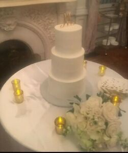 10 Gold Votive Cups 15 Photo Holders Make Great Wedding Cake Table Decorations!