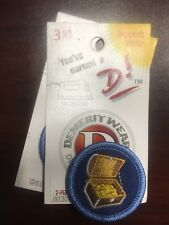 Demerit Wear Geocaching Champ Expert You've Earned a D! Iron-on Merit Badge