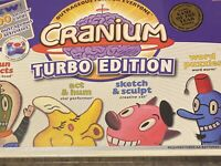 Cranium Turbo Edition New Factory Sealed 2004 Board Game Adults and Teens