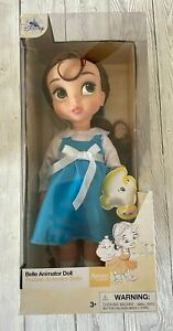 Disney Store Animator Collection Doll BELLE BEAUTY AND THE BEAST 1st Ed RARE