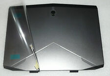 NEW GENUINE ALIENWARE 14 R1 MARINER GRAY LID TOP COVER WIRES 8MX5R XHGGM RDKWC