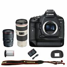 Canon EOS 1DX mark II DSLR Camera Body EF 16-35mm f/4L IS + 70-200mm f/4L IS USM