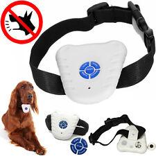 PET DOG STOP BARKING TRAINING ULTRASONIC SOUND ANTI BARK COLLAR CONTROLE