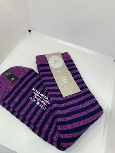 ✨ NEW 3 PACK Richer Poorer Cotton Crew Socks Striped Size 5-9 🧦
