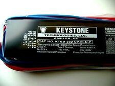KTEB-332-UV-IS-N-P KEYSTONE Instant Start Electronic Ballast for 3 T8 Bulbs