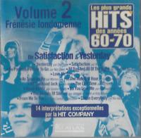 CD LES PLUS GRAND HITS DES ANNÉES 60-70 Vol 2      2930