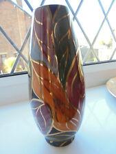 Vintage, J Fryer Ltd - Oldcourt ware, Hand painted, lustre ware vase - 7.5 ins