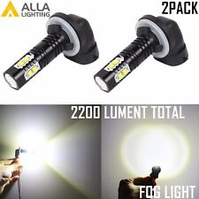 Alla Lighting 50W-LED 881 898 Super Bright 6000K White High Power Fog Light Bulb