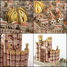 4D Game of Thrones GoT 3D Puzzle King Landing Fantasy Toy Educational City