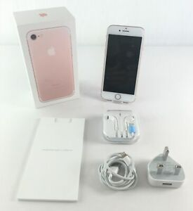 Apple iPhone 7 | Rose Gold 32GB Locked to O2 | Very Good Condition Boxed