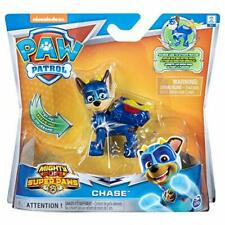 PAW PATROL 6052293 Rubble, Mighty Super PAWs Hero Pup Figures with Transforming