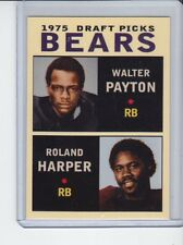 Walter Payton/Roland Harper '75 Chicago Bears Draft Picks #2 rookie stars