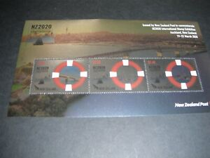 NEW ZEALAND 'NZ2020 CANCELLED' STAMP EXHIBITION FOILED MINI SHEET (Lot 3)