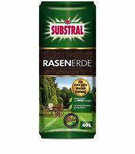 (0,37?/1l) SUBSTRAL® Rasenerde 40 l Torf Erde Rasen Wiese Garten Quarzsand