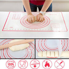 Non-stick Large Silicone Pastry Mat Baking Sheet Liner Pad Measuring Pie Dough