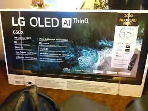 "LG OLED65CXPUA CX 65"" 2160p (4K) OLED Smart TV"