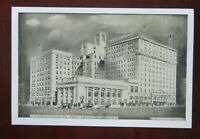 LAWRENCE HOTEL, ERIE, PA, SHOWING NEW ADDITION, Lumitone Photoprint Vtg Postcard