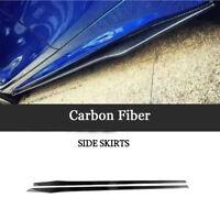 205cm Universal Carbon Seitenschweller Schweller für Audi A4 A3 A5 W204 W176 E92