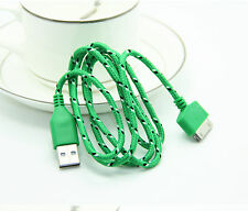 High Quality USB Data Sync Charger Braided Fabric Cable Cord FOR iPhone 4 4S 3FT