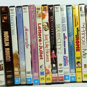 Romance Romantic Comedy Movie DVD Collection Bulk Discounts Free Tracked Post