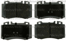 Disc Brake Pad Set-Velocity Plus Economy Semi-metallic with shim Disc Pads Front