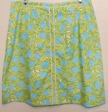 "Vintage Lilly Pulitzer Skirt Flowers size 12 ""The Lilly"""