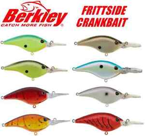 Berkley Frittside 5 Slow Rise Flat-Sided 1/3oz. Crankbait (Select Color) BHBFS5