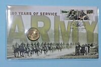 2001 PNC Australian Army 100 Years Of Service + $1 Coin Scarce  ** PRISTINE **