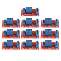 10pcs DC 3V 1 Channel Relay Module Board for Arduino PIC ARM AVR MCU