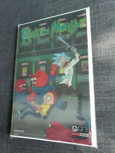 Rick And Morty Comic Issue #1 Sealed (NEW!) Lenticular cover variant 1266/2000