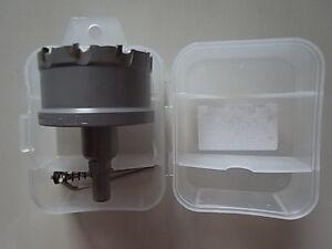 Bohrkrone Hartmetall lang für Stahlplatten 100 mm Durchmesser ETHBK100