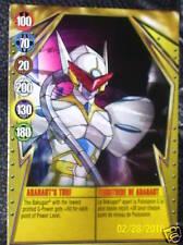 BAKUGAN Gundalian ARANAUT'S TURF Metal Card 11/48a
